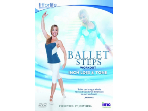Ballet Steps Inch Loss Workout  Joey Bull  Fit For Life Series (DVD)