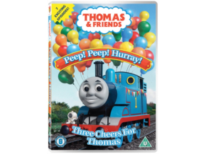 Thomas  Friends  Peep Peep Hurray Three Cheers For Thomas (DVD)