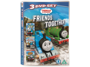Thomas Friends Friends Together Triple Curious Cargosticky Situationsmuddy Matters (DVD)