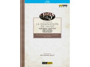 VON OTTER & LEWIS & VAN DAM & SOLTI - Berliozdamnation De Faust (Blu-ray)