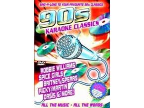 VARIOUS ARTISTS - 90S Karaoke Classics (DVD)