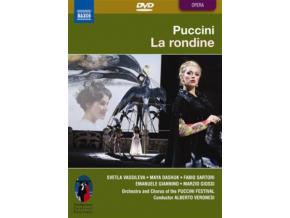 VASSILEVA  DASHUK  VISCONTI - Puccini La Rondine (DVD)