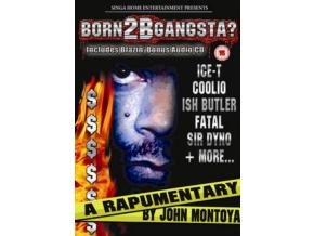 VARIOUS ARTISTS - Born 2B Gangsta (DVD)