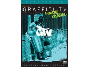 VARIOUS ARTISTS - Graffiti Tv  Vol 4  Funky Enamel (DVD)