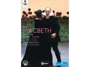 CAVANI & NUCCI & IORI & VALAYRE - Verdimacbeth (DVD)