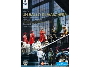 GELMETTI & ORCH PARMA & MELI - Verdiun Ballo In Maschera (DVD)