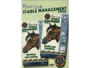 Pony Club Stable Management Health Condi (DVD)