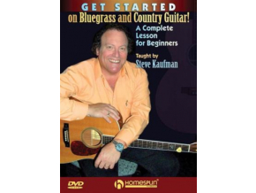 Get Started On Bluegrass  Country Guita (DVD)