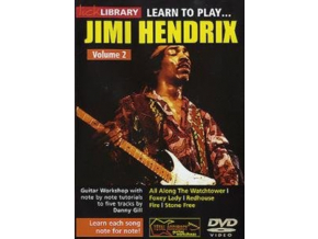 Lick Library Learn To Play Jimi Hendrix (DVD)