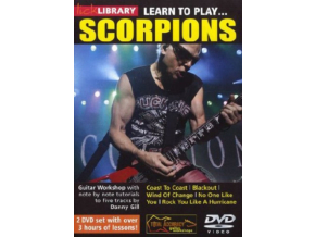Lick Library Learn To Play Scorpions Egt (DVD)