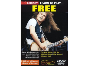 Lick Library Learn To Play Free Gtr 2Dvd (DVD)
