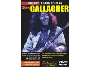 Learn To Play Rory Gallagher Michael Cas (DVD)