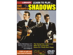 Learn To Play Cliff Richard  The Shadow (DVD)