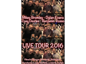 MIKEY BROMLEY DYLAN EVANS JOEY DEVRIES  BENJAMIN ROSSO - Lads On Tour Lads On Tour  Live (DVD)