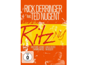 RICK DERRINGER  TED NUGENT - Live At The Ritz Ny (DVD)