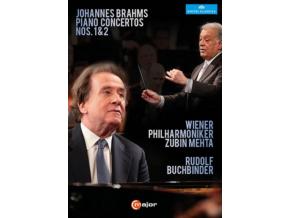 BRAHMS - Buchbinder  Wiener Phil  Mehta (DVD)