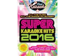 Super Karaoke Hits 2016 (DVD)