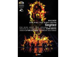 RYAN & WILSON & UUSITALO & MEHTA - Wagnersiegfried (DVD)