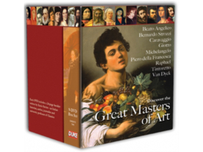Discover The Great Masters Of Art (DVD)