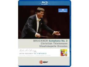 STAATS DRESDEN/THIELEMANN - Bruckner/Symphony No 3 (Blu-ray)