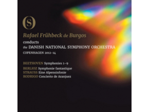 BURGOS / DANISH NATIONAL SO - Beethoven/The Symphonies (Blu-ray Box Set)