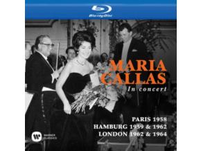 MARIA CALLAS - Callas Toujours. Paris 1958 / In Concert. Hamburg 1959 & 1962 / At Covent Garden. London 1962 & 1964 (Blu-ray)