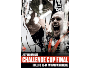 2017 Ladbrokes Challenge Cup Final – Hull Fc V Wigan Warriors (DVD)