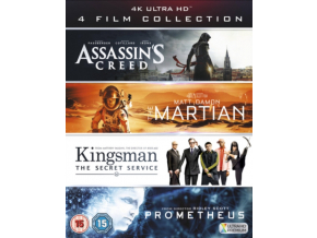 Uk 4K Uhd Starter Pack 2017 (4 Titles) (Blu-ray Box Set)