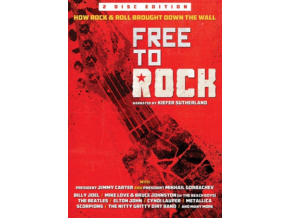 VARIOUS ARTISTS - Free To Rock: How Rock & Roll Brought Down The Wall (DVD)