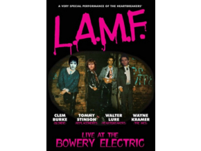 LURE / BURKE / STINSON / KRAMER - L.A.M.F. Live At The Bowery Electric (DVD)