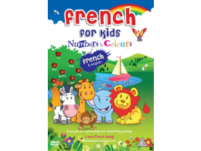 French For Kids: Numbers And Colours (DVD)