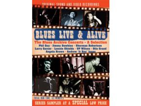 VARIOUS ARTISTS - Blues Live & Alive - The Blues Archive Concerts (DVD)