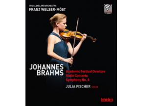 FISCHER/WELSER-MOST - Brahms/Violin Concerto (DVD)