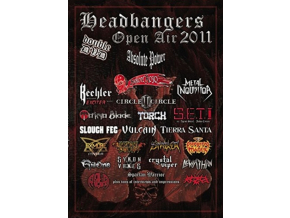 VARIOUS ARTISTS - Headbangers Open Air 2011 (DVD)