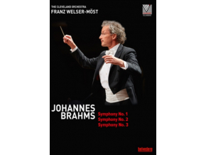 MOST / THE CLEVELAND ORCH - Johannes Brahms: Symphony No. 1 / Symphony No. 2 / Symphony No. 3 (DVD)