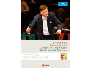 DRESDEN STAATS / THIELEMANN - Bruckner / Symphony No 1 (DVD)