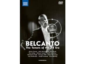 CARUSO / TAUBER / GIGLI - Bel Canto (DVD Box Set)