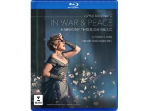 JOYCE DIDONATO / IL POMO DORO / MAXIM EMELYANYCHEV - In War & Peace - Harmony Through Music (Blu-ray)