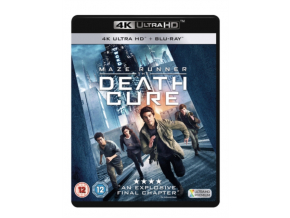 MAZE RUNNER: THE DEATH CURE RETAIL BLU-RAY DISC 4K + DD (Blu-ray 4K)