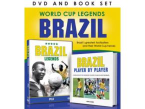 World Cup Legends:Brazil Book & Dvd Gift Set (DVD)
