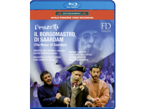 VARIOUS ARTISTS - Donizetti / Il Borgomastro (Blu-ray)