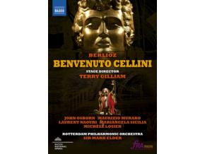 SICILIA / ROTTERDAM PO / ELDER - Berlioz / Benvenuto (DVD)