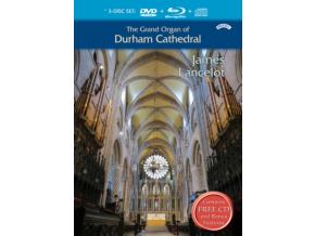 JAMES LANCELOT - The Grand Organ Of Durham Cathedral (Blu-ray + DVD)