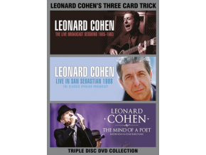 LEONARD COHEN - Three Card Trick (DVD)