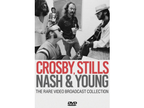 CROSBY STILLS NASH & YOUNG - The Rare Video Broadcast Collection (DVD)