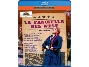 VARIOUS ARTISTS - Giacomo Puccini: La Fanciulla Del West (Blu-ray)