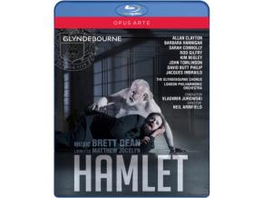 CLAYTON / CONNOLLY / HANNIGAN - Brett Dean: Hamlet (Blu-ray)