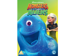 MONSTERS VS. ALIENS - 2018 ARTWORK REFRE (DVD)