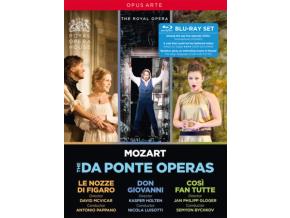 ROYAL OPERA / PAPPANO / BYCHKOV - Wolfgang Amadeus Mozart: Le Nozze Di Figaro / Don Giovanni / Cosi Fan Tutte (Blu-ray)