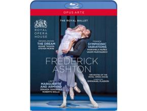 ROYAL BALLET / PLASSON - Frederick Ashton: The Dream / Symphonic Variations / Marguerite And Armand (Blu-ray)